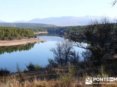 Ruta senderista por el embalse de Puentes Viejas;senderismo y excursiones;senderos de madrid